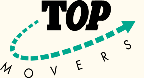 Harry van Erp Top Movers